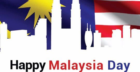 Happy Malaysia Day 16 September 2017