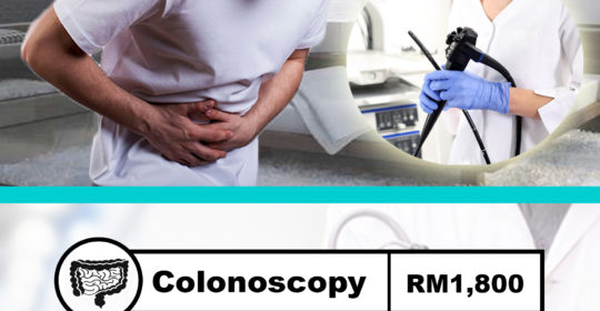 Pakej Gastrocopy and Colonoscopy