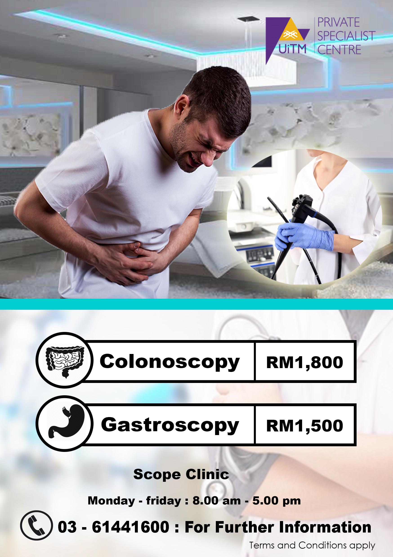 Colonoscopy Room: UiTM Private Specialist Centre