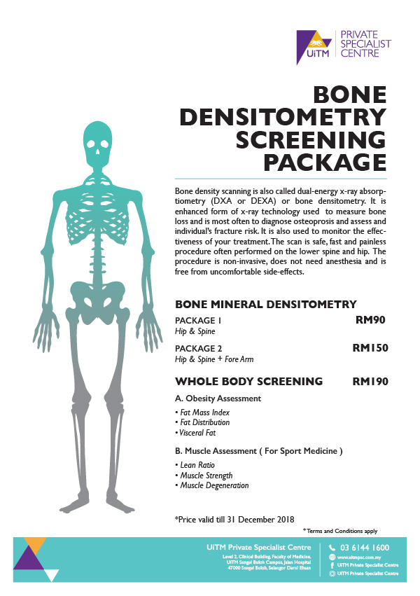 UPSC Bone Densitometry Package